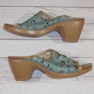 Dansko Clarissa Floral Cutout Sandals Size 41